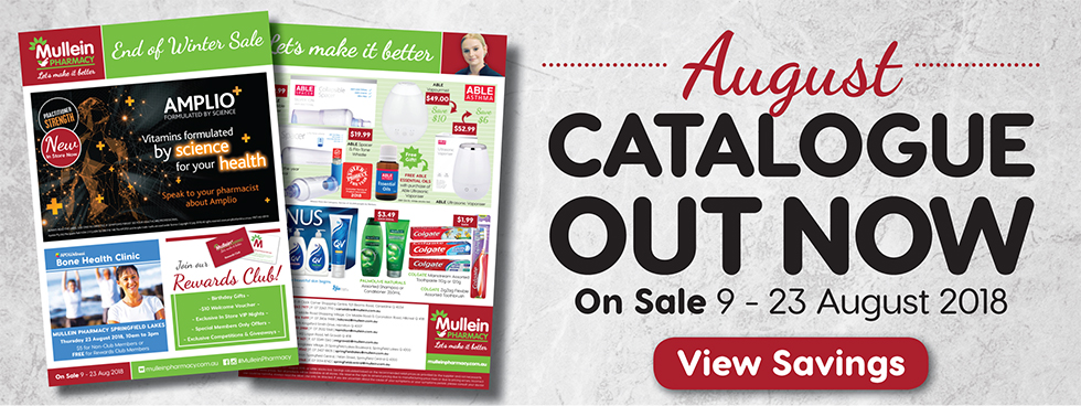 Mullein Pharmacy August Catalogue